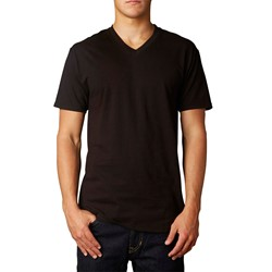 Fox - Mens Uneven V Neck Premium T-Shirt