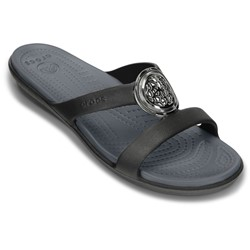 Crocs - Womens  Sanrah Circle Sandal