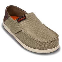 Crocs - Boys  Santa Cruz Canvas Loafer