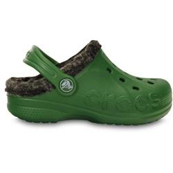 Crocs - Kids  Baya Heathered Lined Clog