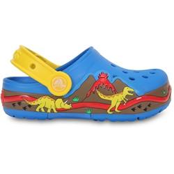 Crocs - Boys  Lights Dinosaur Clog