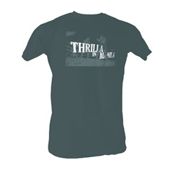 Muhammad Ali - Thrilla In Manila Mens T-Shirt In Black