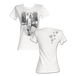 James Dean - 1955 Womens T-Shirt In White