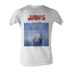 Jaws -  In Japan Mens T-Shirt In White
