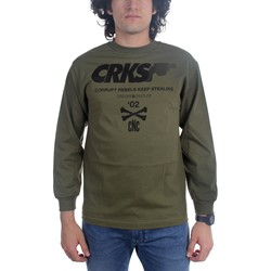 Crooks & Castles - Mens Rebels Long Sleeve Shirt