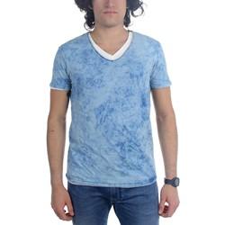 Scotch & Soda - Mens Skywash 2-Fer V-Neck T-Shirt