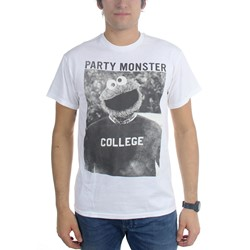 Sesame Street - Mens Party Monster Cookie Monster T-Shirt