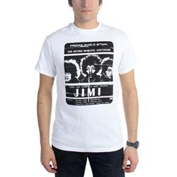 Jimi Hendrix - Mens Concert Poster T-Shirt