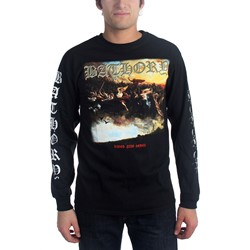 Bathory - Mens Blood Fire Death Longsleeve Shirt