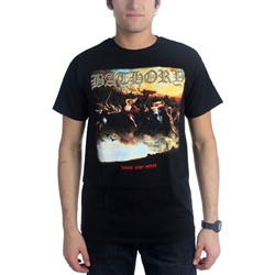 Bathory - Mens Blood Fire Death T-Shirt