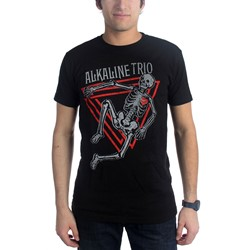 Alkaline Trio - Mens Skeleton T-Shirt