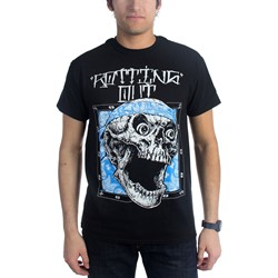 Rotting Out - Mens Skull Bandana T-Shirt