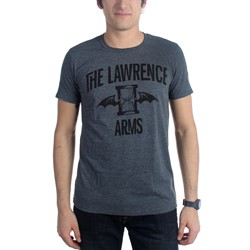 Lawrence Arms - Mens Flappy Grey T-Shirt