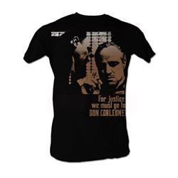 Godfather, The - Justice Mens T-Shirt In Black