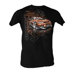 Fast & Furious - Bronze Car Mens T-Shirt In Black