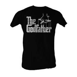Godfather, The - Distress Copy Mens T-Shirt In Black