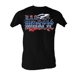 Fast & Furious - Usa Muscle Mens T-Shirt In Black