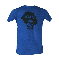 Buckwheat - The Big Otay Mens T-Shirt In Sea Blue Heather