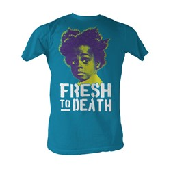 Buckwheat - Fresh To Death Mens T-Shirt In Turquoise