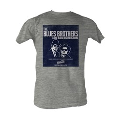 Blues Brothers, The - Blues Brothers 2 Mens T-Shirt In Gray Heather
