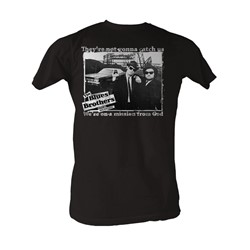 Blues Brothers, The - Not Gonna Catch Us Mens T-Shirt In Black
