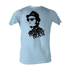 Blues Brothers, The - Holy Man Mens T-Shirt In Light Blue