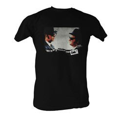 Blues Brothers, The - Mission   Mens T-Shirt In Black