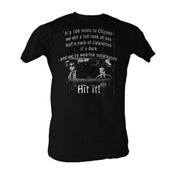 Blues Brothers, The - 106 Miles Mens T-Shirt In Black