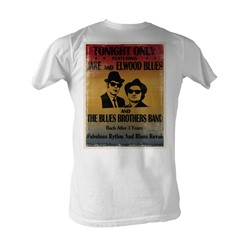 Blues Brothers, The - Tonight Only Mens T-Shirt In White