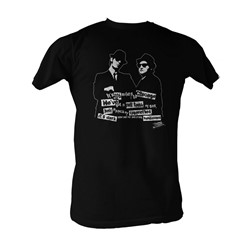 Blues Brothers, The - Its Dark Mens T-Shirt In Black