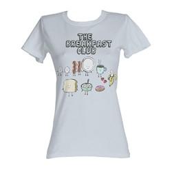 Breakfast Club, The - Breakfast Womens T-Shirt In Silver