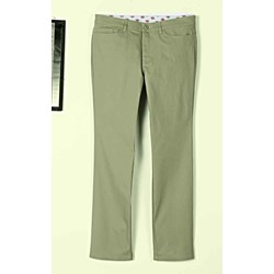 Dickies - FP213 Womens Slim Skinny 5-Pocket Stretch Twill Pants
