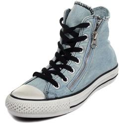 Converse - Chuck Taylor All Star Double Zip Denim Hi Shoes