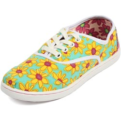 Toms - Unisex-Child Cordones Shoes In Yellow Daisy