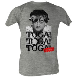 Animal House - Toga Party Mens T-Shirt In Gray Heather