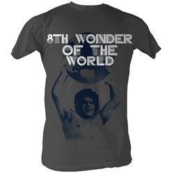 Andre The Giant - World Cup Mens T-Shirt In Charcoal