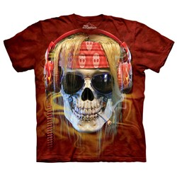 The Mountain - Mens Rocker Skull T-Shirt