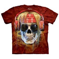The Mountain - Mens Rocker Skull T-Shirt