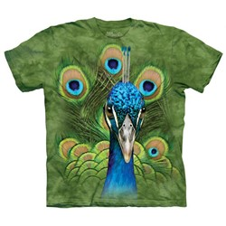 The Mountain - Youth Vibrant Peacock T-Shirt