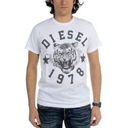 Diesel - Mens T-Tgr Maglietta T-Shirt