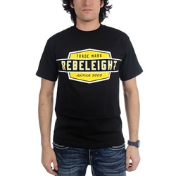 Rebel8 - Mens Oversize Work Badge T-Shirt