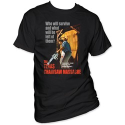 Texas Chainsaw Massacre - Bizarre & Brutal Crimes! Mens T-Shirt In Black