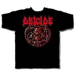 Deicide - Medallion Adult T-Shirt