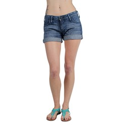 True Religion - Womens Cassie Rolled Shorts