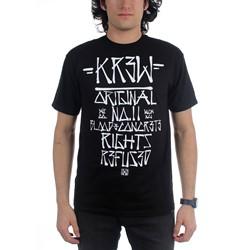 KR3W - Mens Skrawl T-Shirt