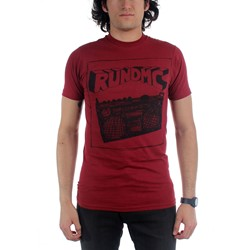 RUN DMC - Mens Hand Sketch T-Shirt in Red