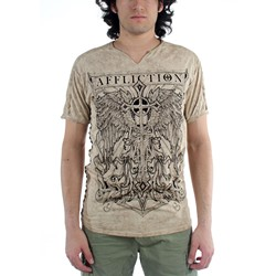Affliction - Mens Praying for Freedom T-Shirt