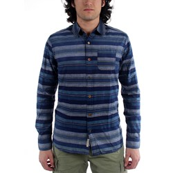Scotch & Soda - Mens Japanese Woven Indigo Button Down Shirt