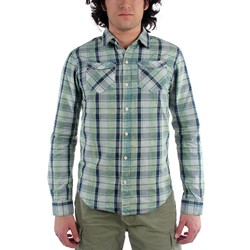 Scotch & Soda - Mens Bleached Check Button Down Shirt
