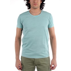 Scotch & Soda - Mens Double Layer Crewneck T-Shirt